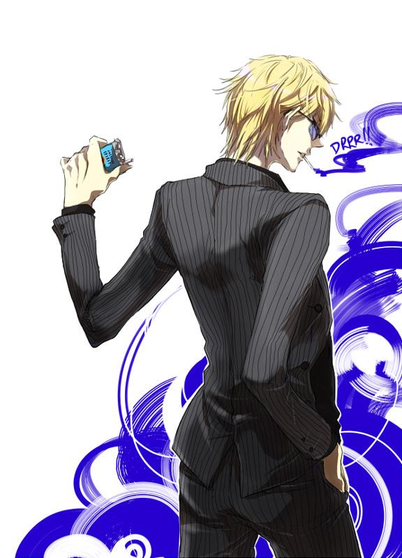 Tags: Anime, Meroo (Zest), DURARARA!!, Heiwajima Shizuo, Mobile Wallpaper, Pixiv, Fanart, PNG Conversion