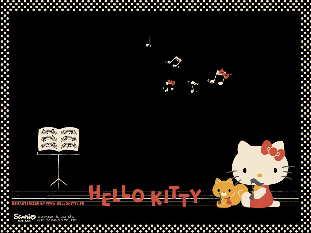 Good Wallpaper Hello Kitty Black - Hello  Trends_605219.jpg