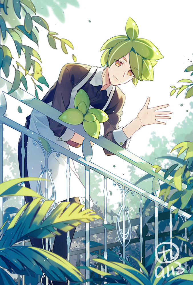 Tags: Anime, Pixiv Id 2276805, Cookie Run, Herb Cookie, Pixiv, Fanart, Fanart From Pixiv