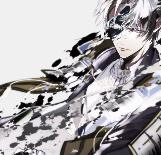 Tags: Anime, Pixiv Id 3997083, Touken Ranbu, Heshikiri Hasebe, Japanese Armor, Fanart, Twitter, PNG Conversion