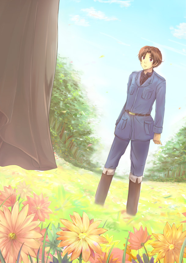Tags: Anime, Pixiv Id 283830, Axis Powers: Hetalia, Hetaoni, Germany, North Italy, Holy Roman Empire, Pixiv, Mobile Wallpaper, Fanart, Fanart From Pixiv, Mediterranean Countries, Axis Power Countries