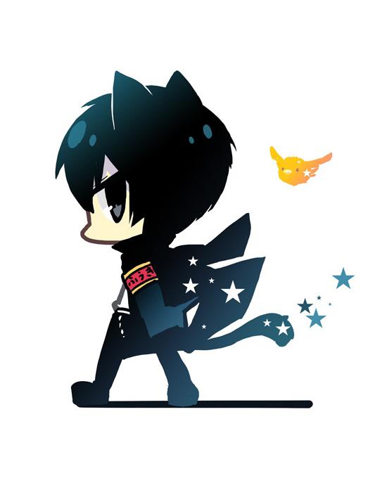 Tags: Anime, Yuzuki Gao, Katekyo Hitman REBORN!, Hibird, Hibari Kyoya, Fanart, Pixiv