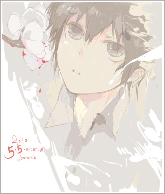 Tags: Anime, Josco, Katekyo Hitman REBORN!, Hibari Kyoya, Fanart From Pixiv, Fanart, Pixiv