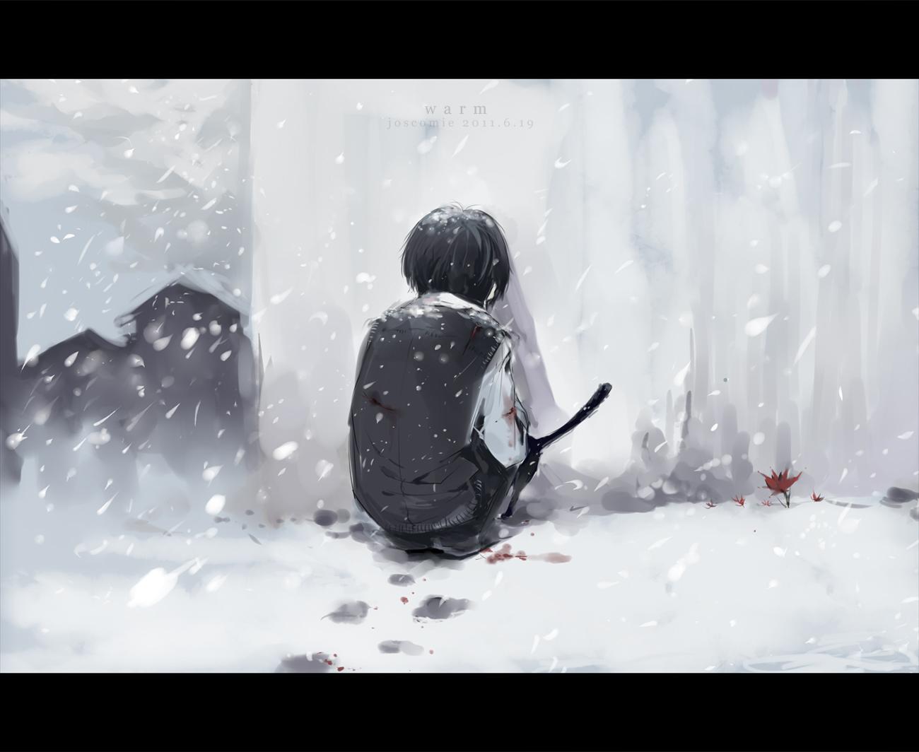 Anime Lonely Winter Tags Anime  Josco  Katekyo