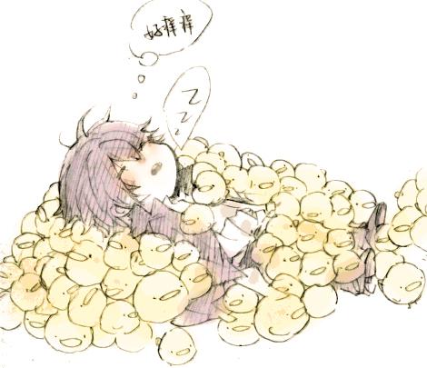 Tags: Anime, Josco, Katekyo Hitman REBORN!, Hibari Kyoya, Hibird, Zzz