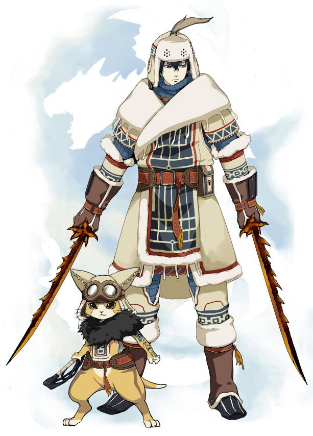Tags: Anime, Raibura, Katekyo Hitman REBORN!, Monster Hunter Series, Hibari Kyoya, Dino Cavallone, Monster Hunter (Parody), Urukususu (Armor), Mobile Wallpaper
