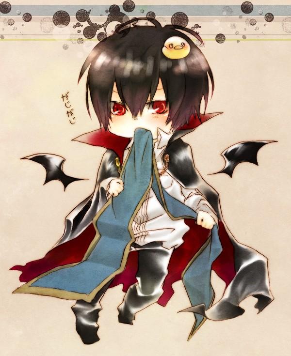 Tags: Anime, Pixiv Id 1798741, Monster Tamer Tsuna, Katekyo Hitman REBORN!, Hibari Kyoya, Hibird, Hibarin, Syury07, Bird on Head, deviantART, Fanart, Pixiv