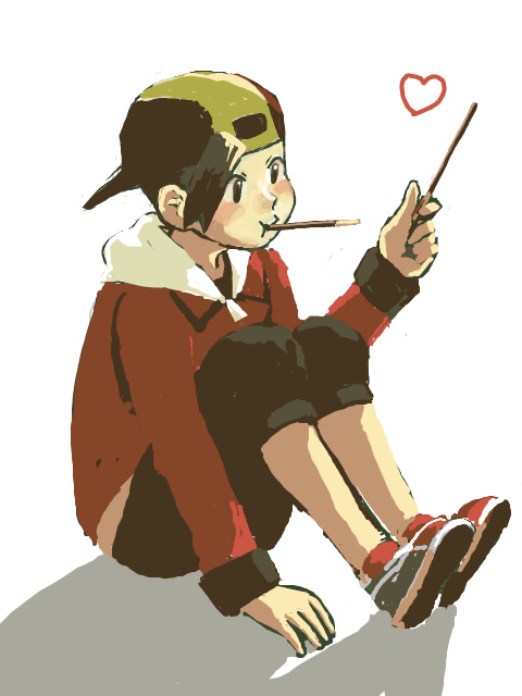 Tags: Anime, Pixiv Id 185269, Pokémon Gold & Silver, Pokémon, Hibiki (Pokémon), Capri Pants, Fanart From Pixiv, Fanart, Pixiv, Ethan