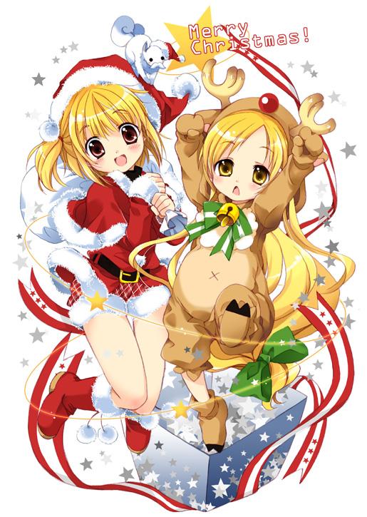 Tags: Anime, Hibiki no Mahou, Reindeer Costume, Hibiki's Magic