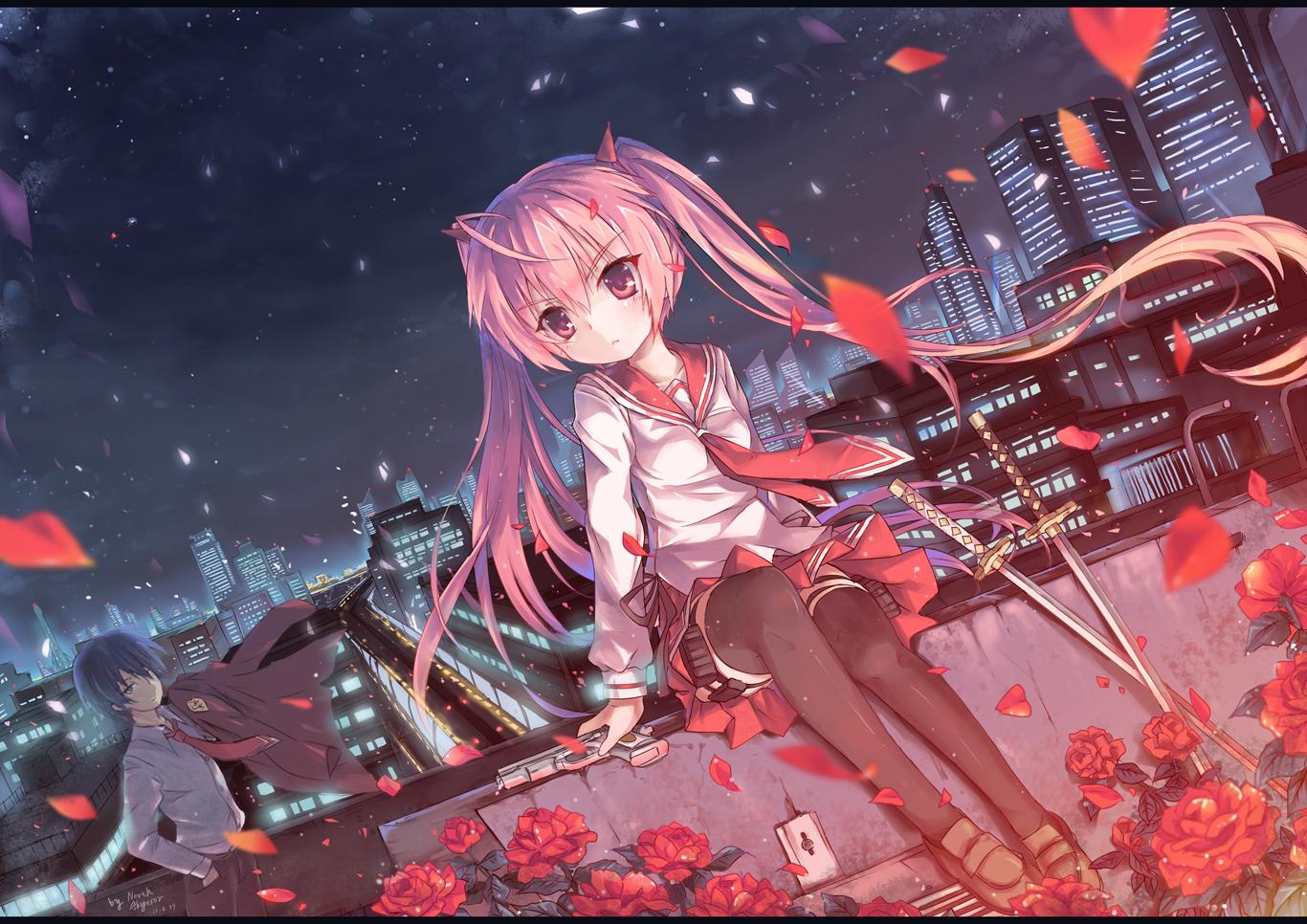 Hidan No Aria Aria The Scarlet Ammo Zerochan Anime Image Board