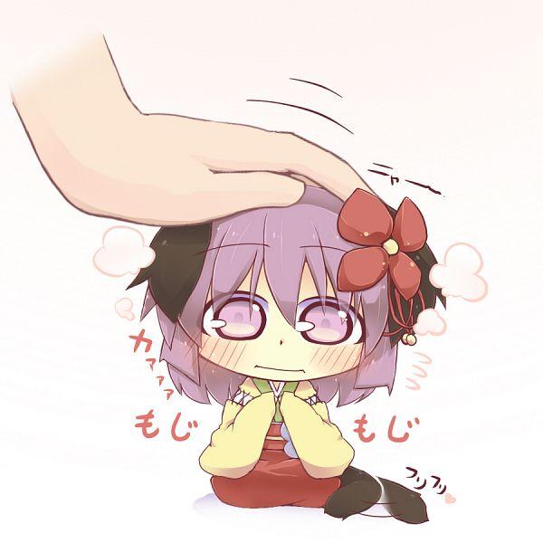 Tags: Anime, Hazuki Ruu, Touhou, Hieda no Akyuu, Dog Tail