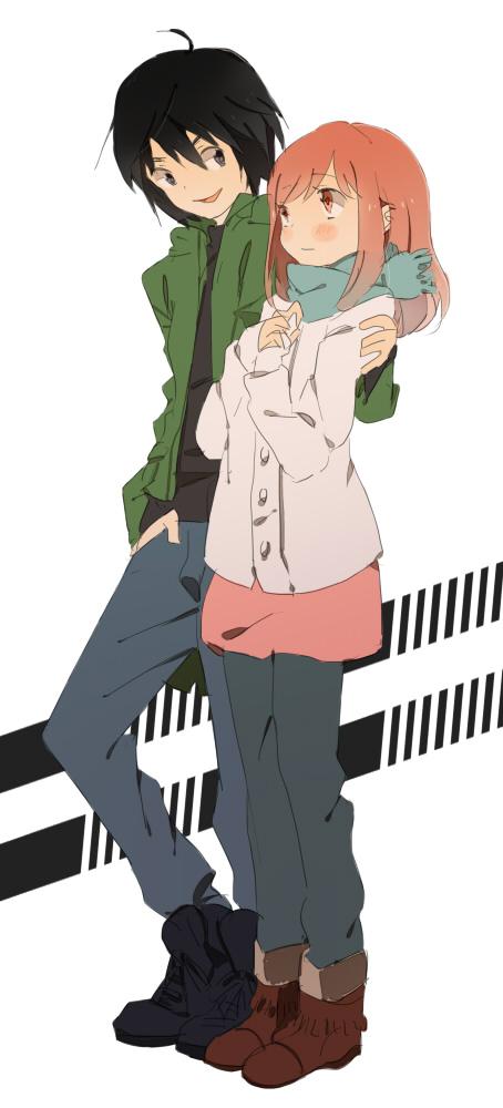 Tags: Anime, Higashi no Eden, Takizawa Akira, Morimi Saki, Eden Of The East