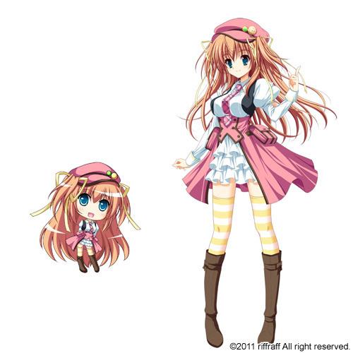 Tags: Anime, Suzui Narumi, Furukawa Lemon, riffraff, Renai Kateikyoushi Rurumi Coordinate, Higashibetsuin Rurumi, Official Art
