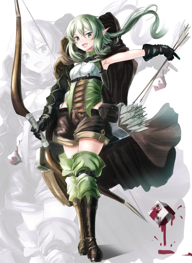 Tags: Anime, Pixiv Id 20804887, Goblin Slayer, High Elf Archer, Dice, Pixiv, Fanart, Fanart From Pixiv