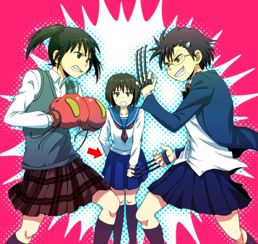 ... (Danshi Koukousei No Nichijou), Yanagin, High School Girls are Funky