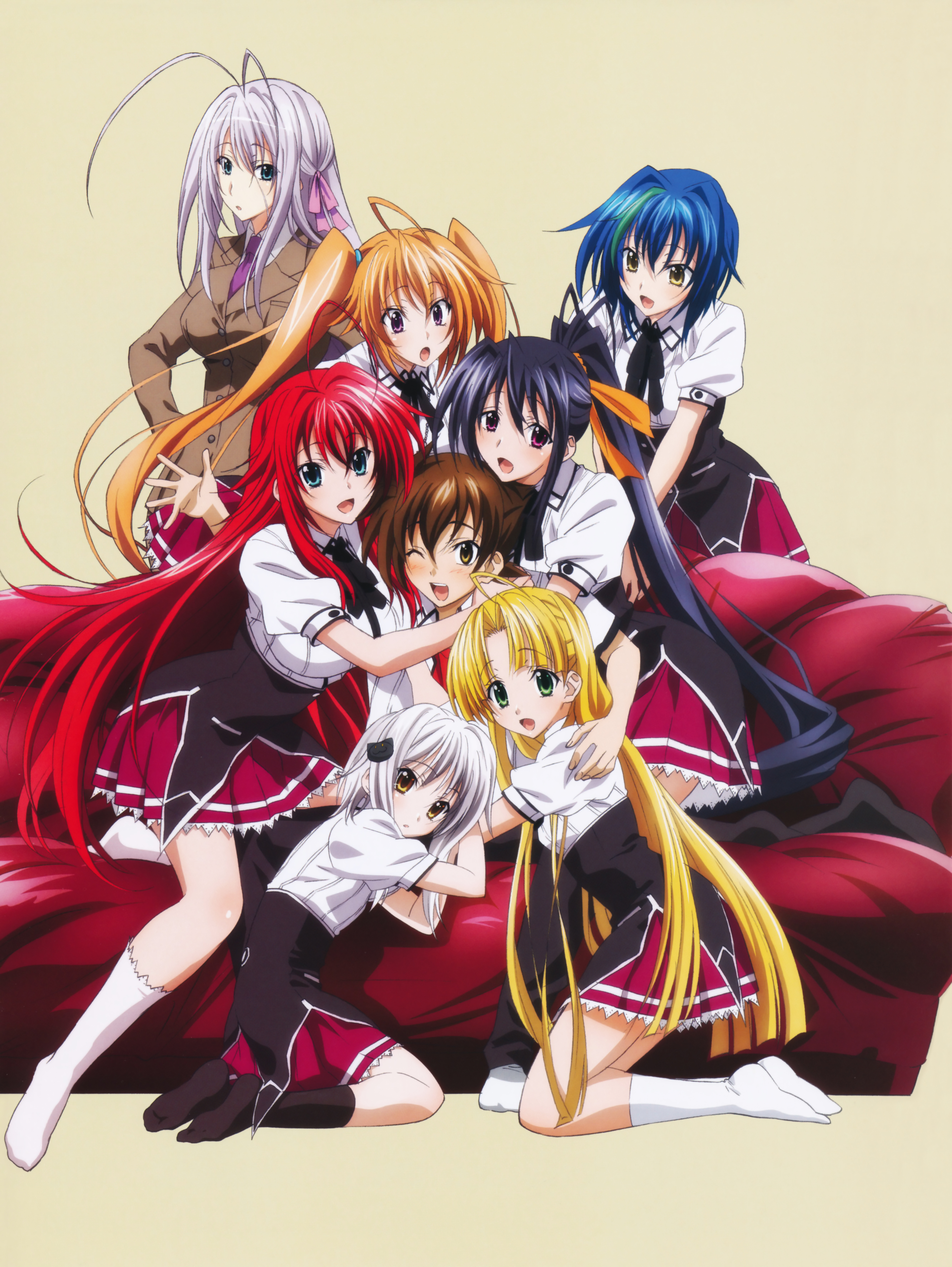 Highschool Dxd Mobile Wallpaper Zerochan Anime Image Board