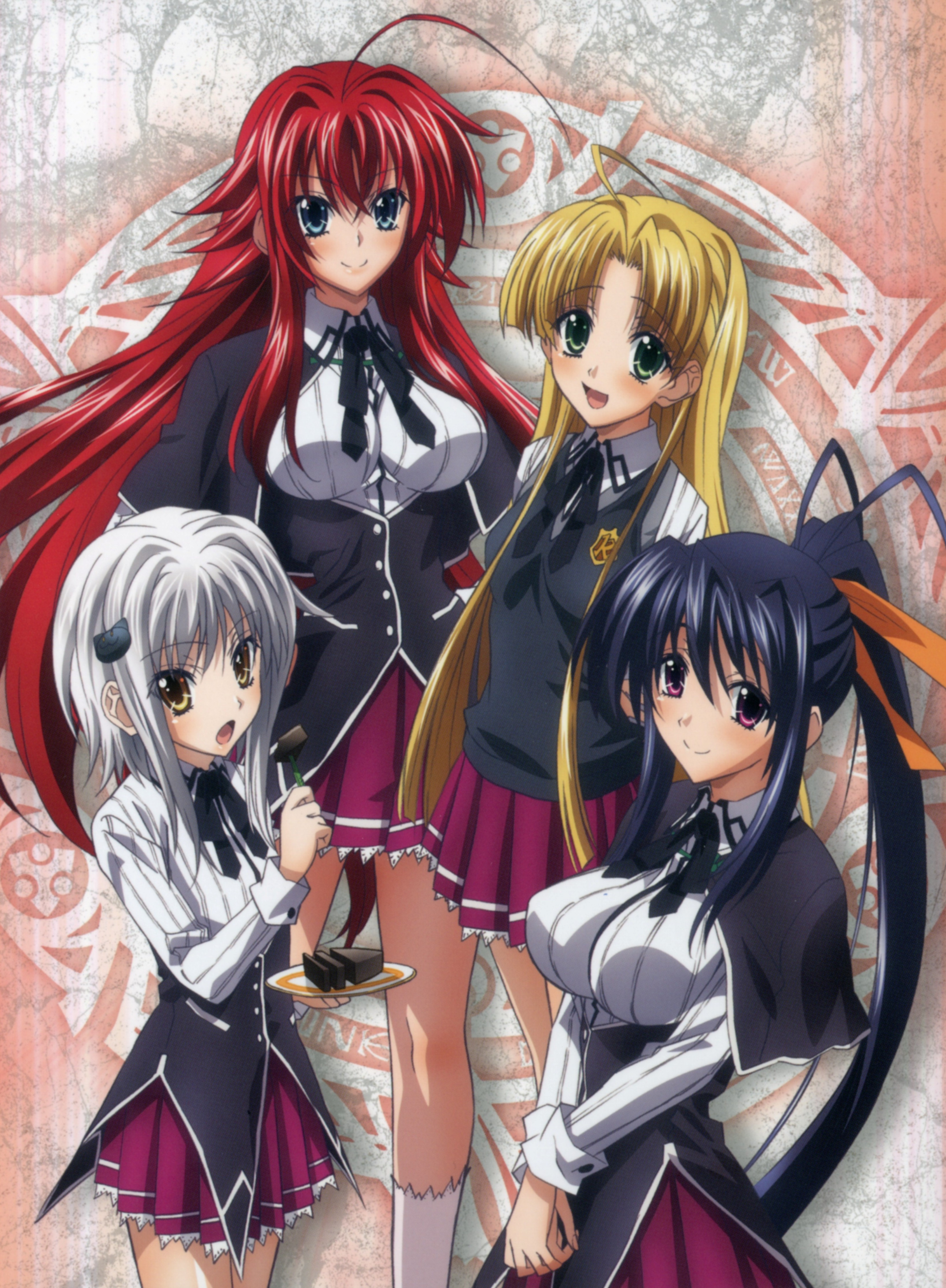 Highschool Dxd Zerochan Anime Image Board