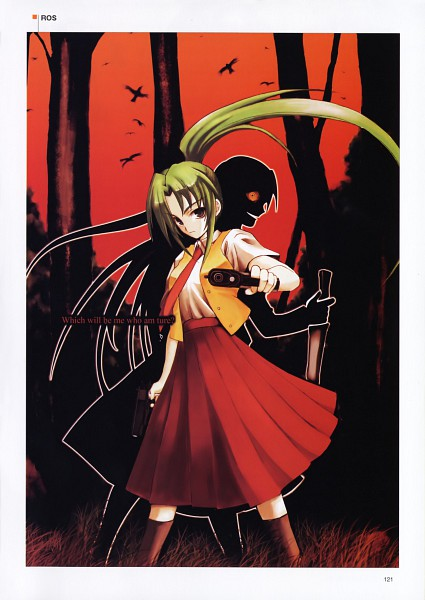 Tags: Anime, Higurashi no Naku Koro ni, Sonozaki Mion, Sonozaki Shion, 07th Expansion