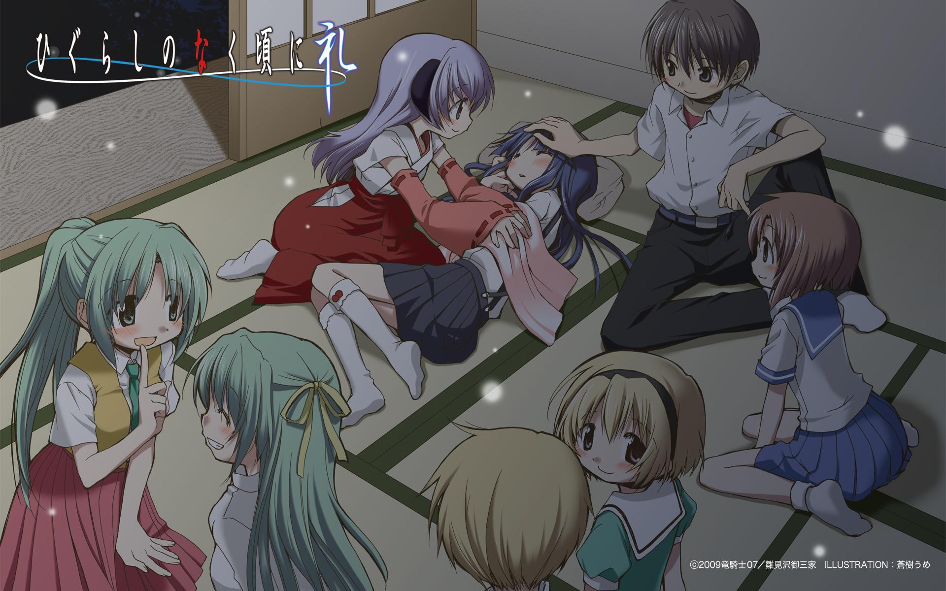 Higurashi No Naku Koro Ni Rei When They Cry Rei Zerochan