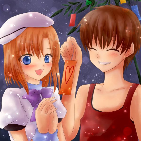 Tags: Anime, Maekawa Suu, 07th Expansion, Higurashi no Naku Koro ni, Maebara Keiichi, Ryuuguu Rena, Pixiv, When They Cry