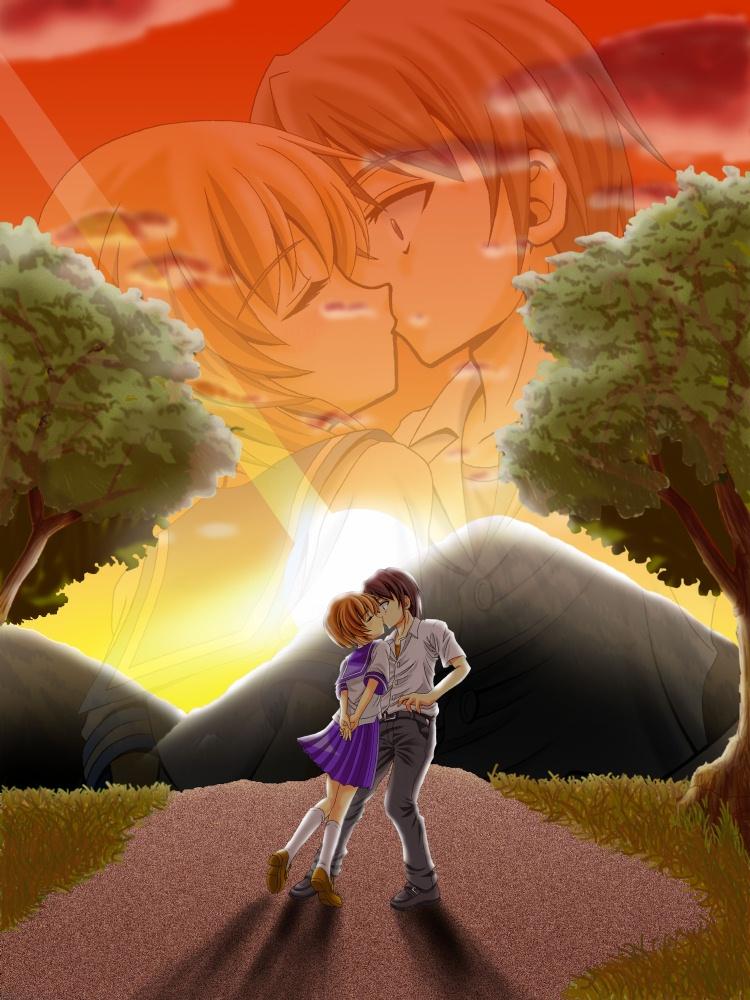 Higurashi no naku koro ni kiss