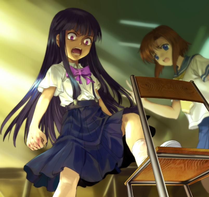 Higurashi No Naku Koro Ni When They Cry Image 175117 Zerochan Anime Image Board