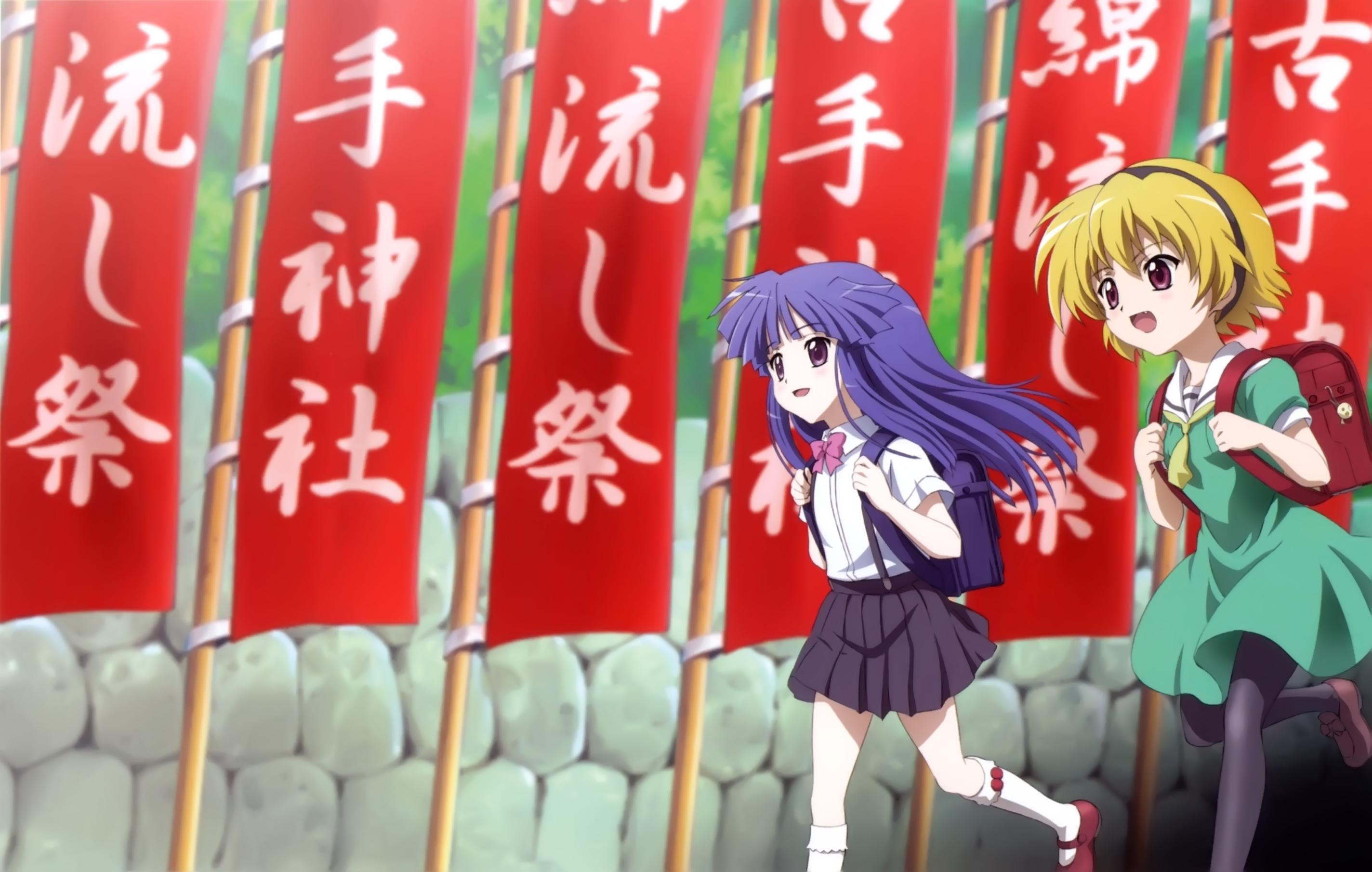 Higurashi No Naku Koro Ni When They Cry Wallpaper 274149 Zerochan Anime Image Board