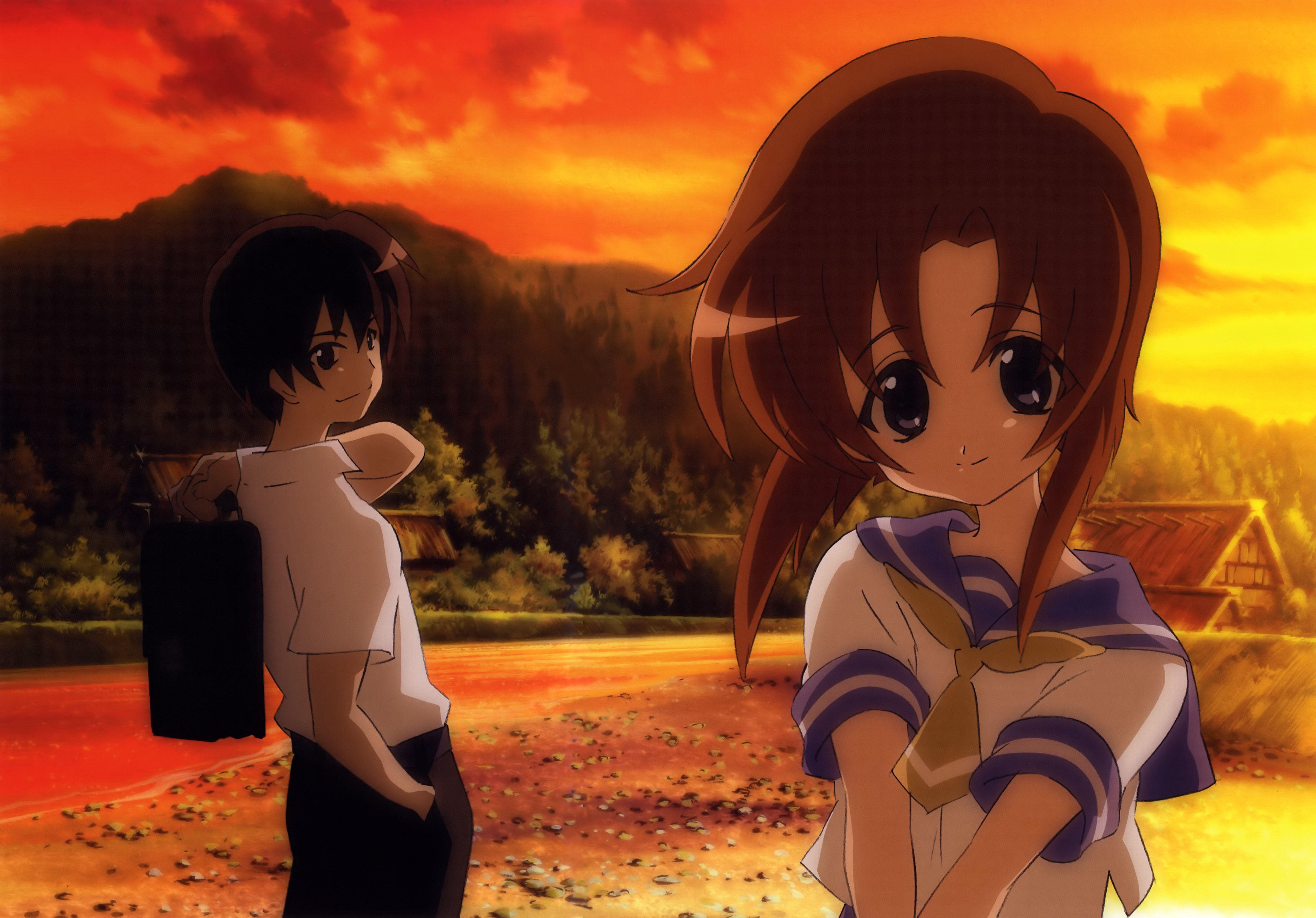 Higurashi No Naku Koro Ni Illustrations Zerochan Anime Image Board