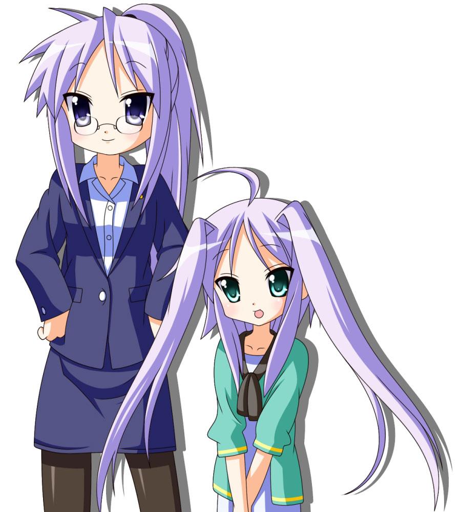 Hiiragi Kagami (Kagami Hiiragi) - Lucky☆Star - Image ...