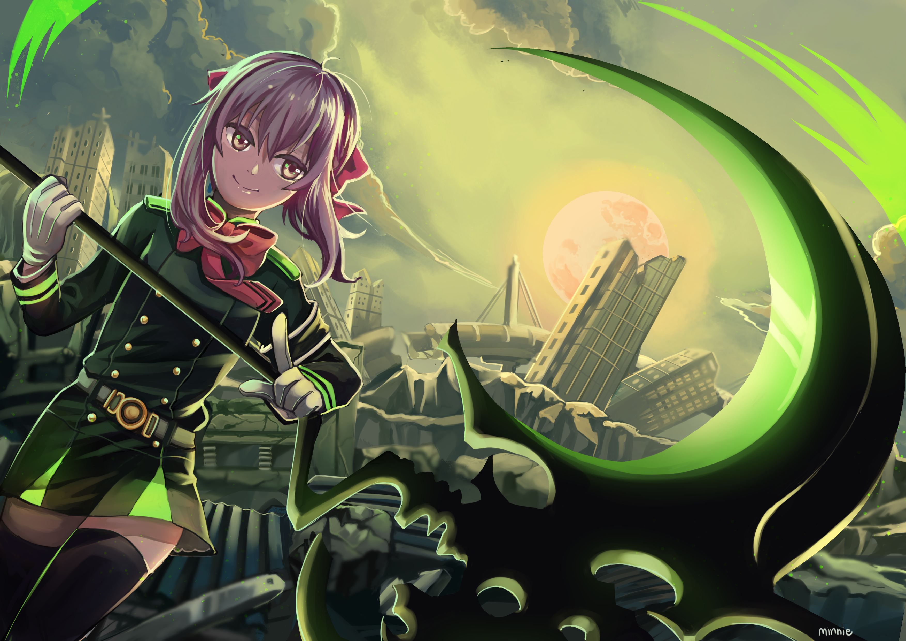 Image result for seraph of the end