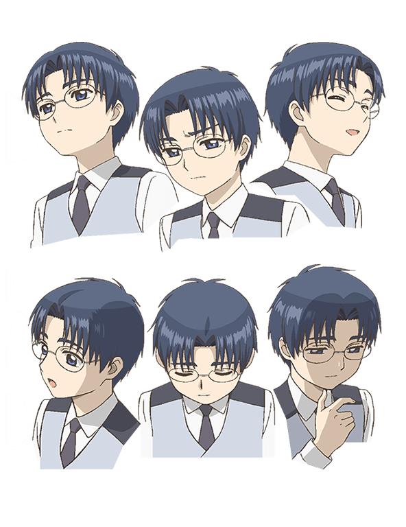 Tags: Anime, Hamada Kunihiko, MADHOUSE, Cardcaptor Sakura: Clear Card-hen, Cardcaptor Sakura, Hiiragizawa Eriol, Character Sheet, Cover Image, Official Art