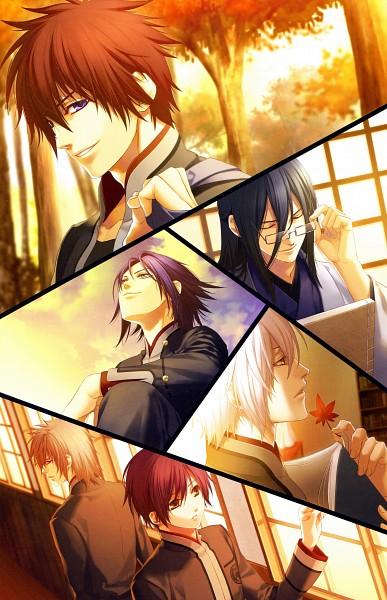 Tags: Anime, Kazuki Yone, IDEA FACTORY, Hiiro no Kakera, Komura Yuuichi, Takuma Onizaki, Kutani Ryou