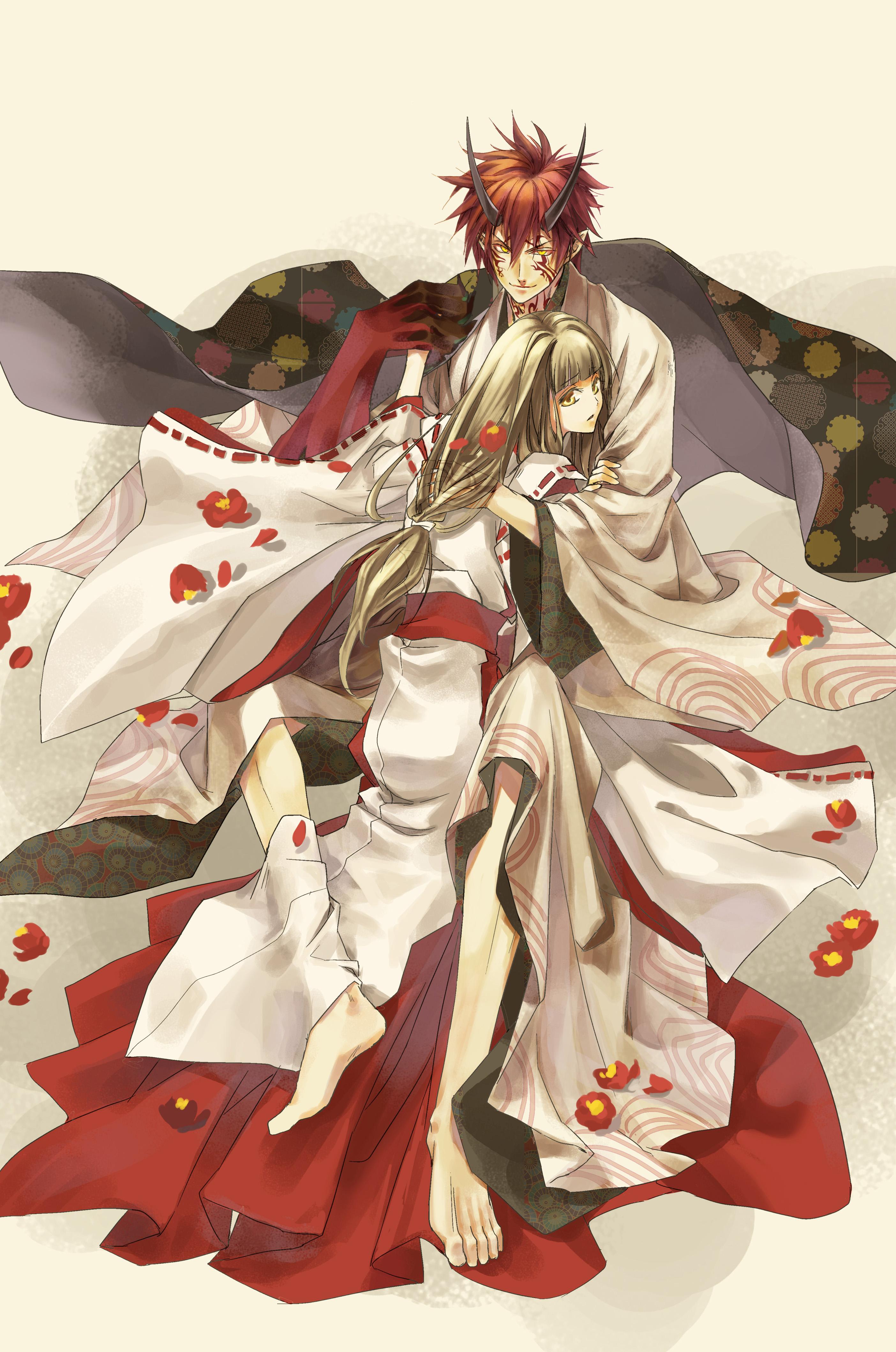 Hiiro No Kakera Scarlet Fragments Mobile Wallpaper
