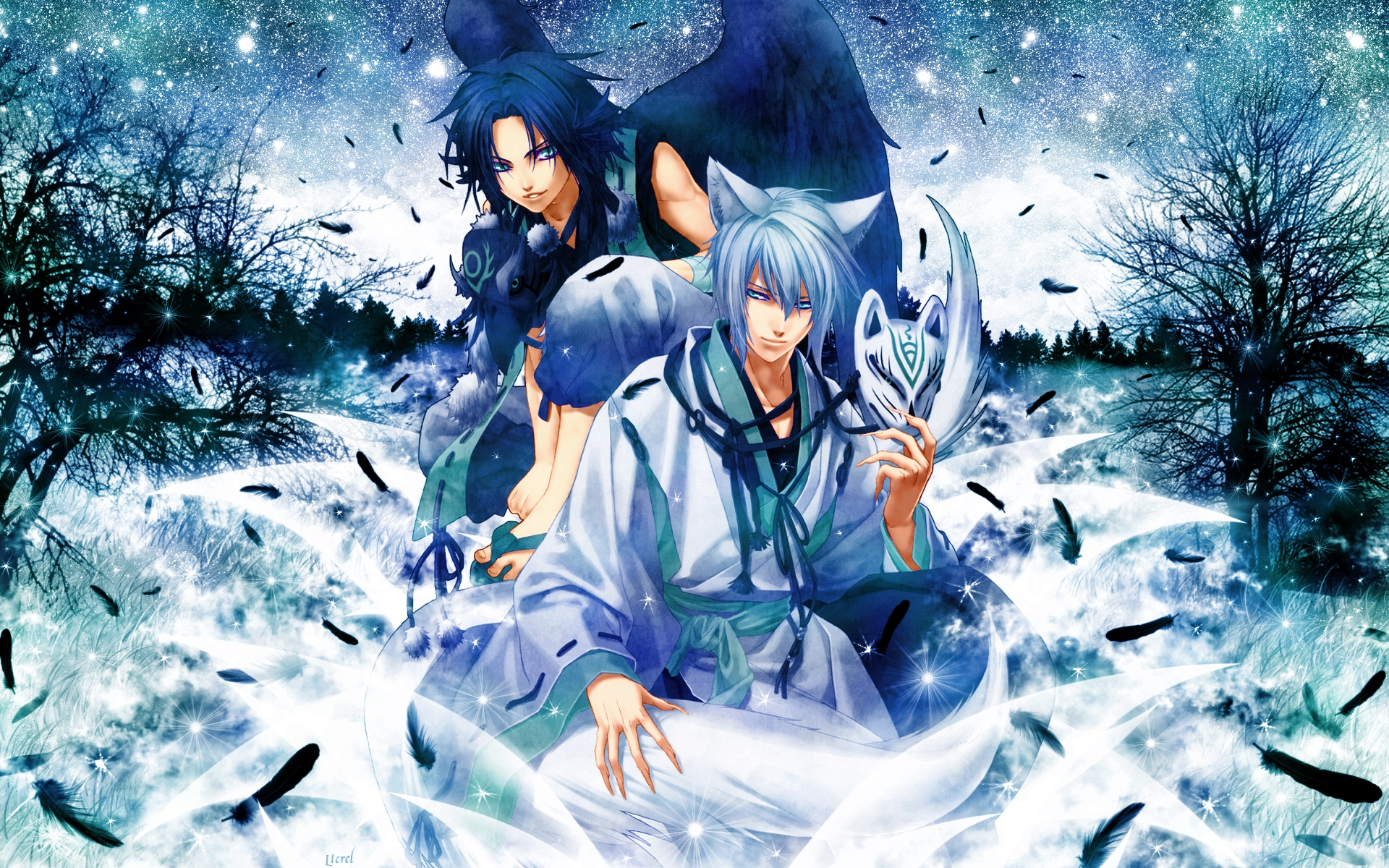 Hiiro no Kakera (Scarlet Fragments) Wallpaper #62174 ...