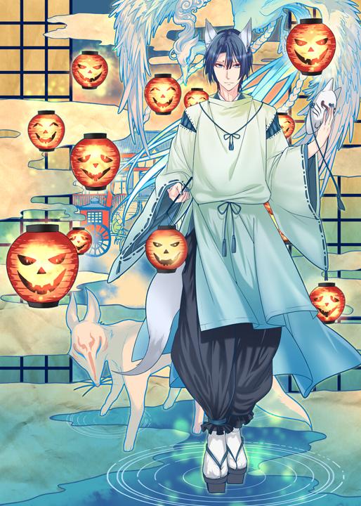 Tags: Anime, Roa Huduki, Uta no☆prince-sama♪, Hijirikawa Masato, Paper Lantern, Shouji, Pixiv, Fanart, Mobile Wallpaper