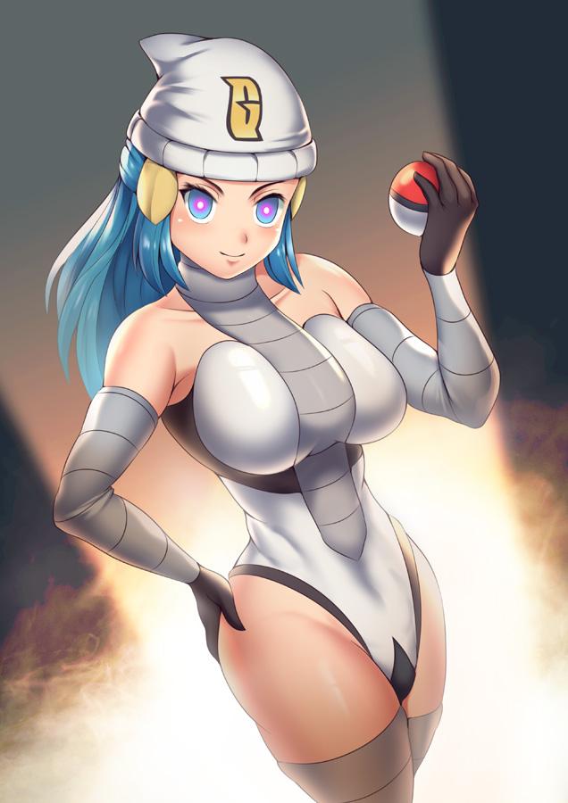 Tags: Anime, Pixiv Id 2909035, Pokémon Diamond & Pearl, Pokémon, Hikari (Pokémon), Team Galactic (Cosplay), Team Galactic