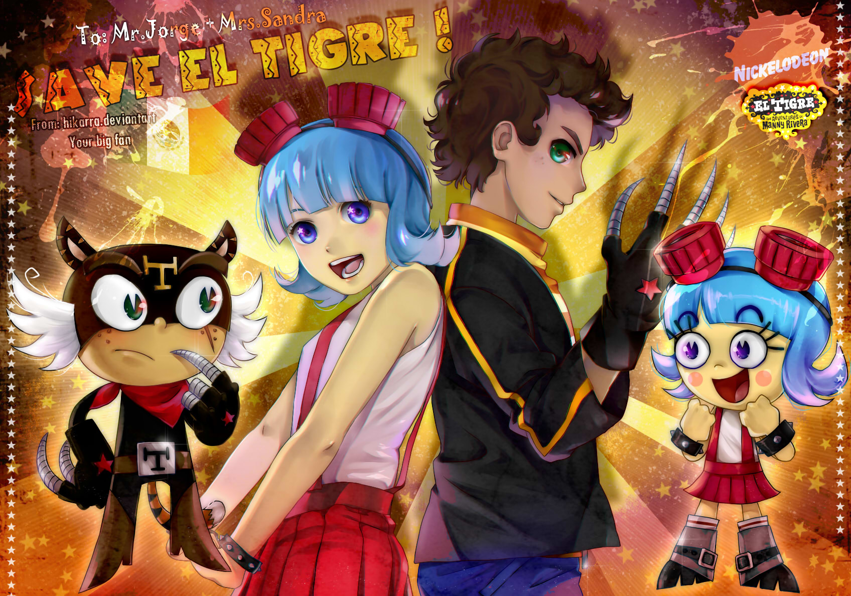 Tags Anime Hikarra Nickelodeon Mexican DeviantART Pixiv