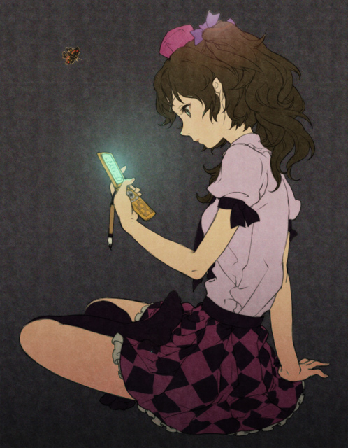Tags: Anime, Egawa Satsuki, Touhou, Himekaidou Hatate, Pixiv, Fanart From Pixiv, Fanart, Hatate Himekaidou