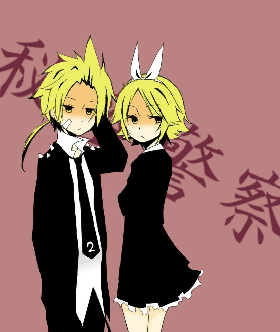 Tags: Anime, VOCALOID, Kagamine Len, Kagamine Rin, Himitsu Keisatsu, Kagamine Mirrors, Secret Police