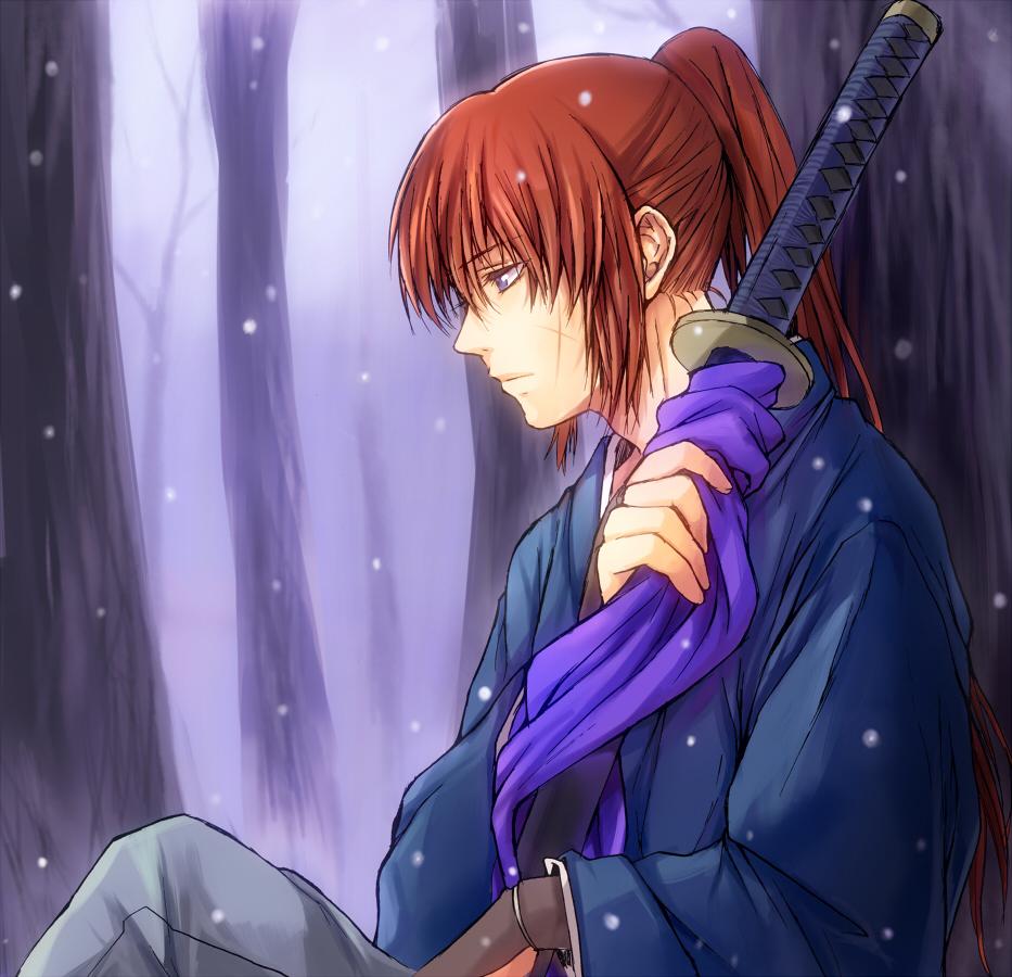 Himura Kenshin Rurouni Kenshin Zerochan Anime Image Board