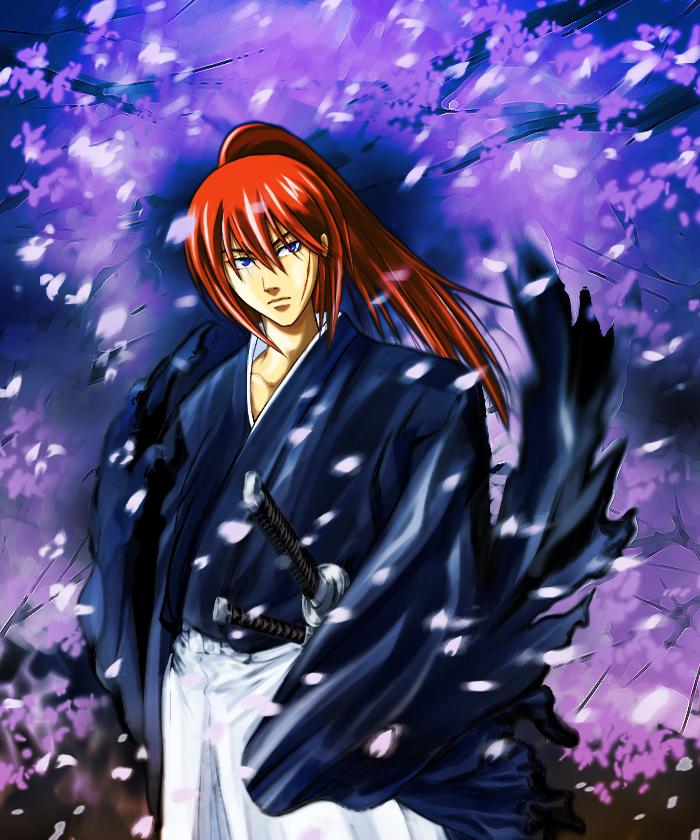 картинки самурай икс кенси