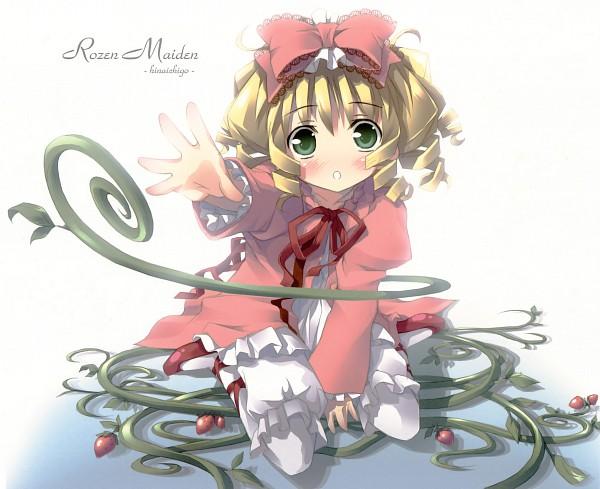 Tags: Anime, kantoku, Rozen Maiden, Hinaichigo, Vestido rosa, Bloomers (Victoriano), Vines