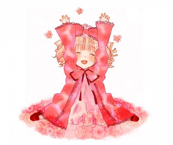 Tags: Anime, Nami (Artista), Rozen Maiden, Hinaichigo, Alzar los brazos, muñeca