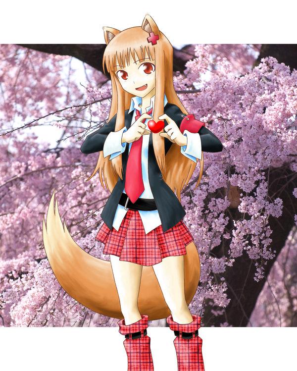 Tags: Anime, Sab-chan, Shugo Chara!, Ookami to Koushinryou, Horo, Hinamori Amu (Cosplay), K-ON! (Parody), Fanart, Moe Moe Kyun