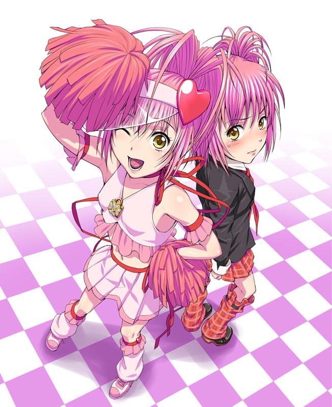 Tags: Anime, Nigou, Shugo Chara!, Amulet Heart, Hinamori Amu, Fanart