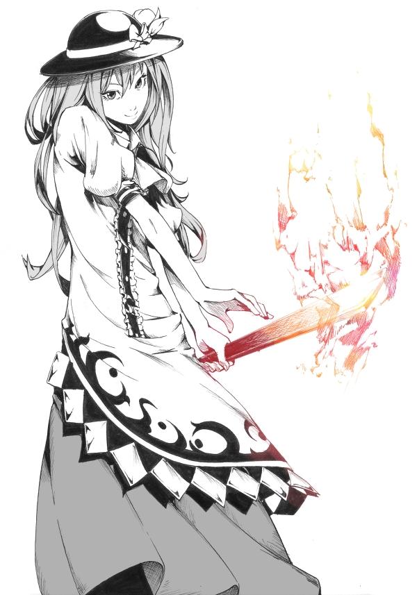 Tags: Anime, Sawasawa, Touhou, Hinanawi Tenshi, Sword of Hisou, Mobile Wallpaper, Tenshi Hinanawi
