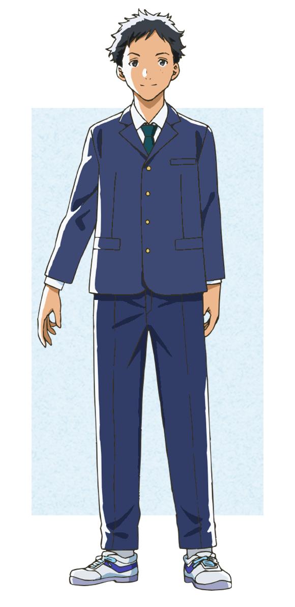 Tags: Anime, Morita Kazuaki, Feel (Studio), Tsuki ga Kirei, Hira Takumi, Official Art, Cover Image, PNG Conversion