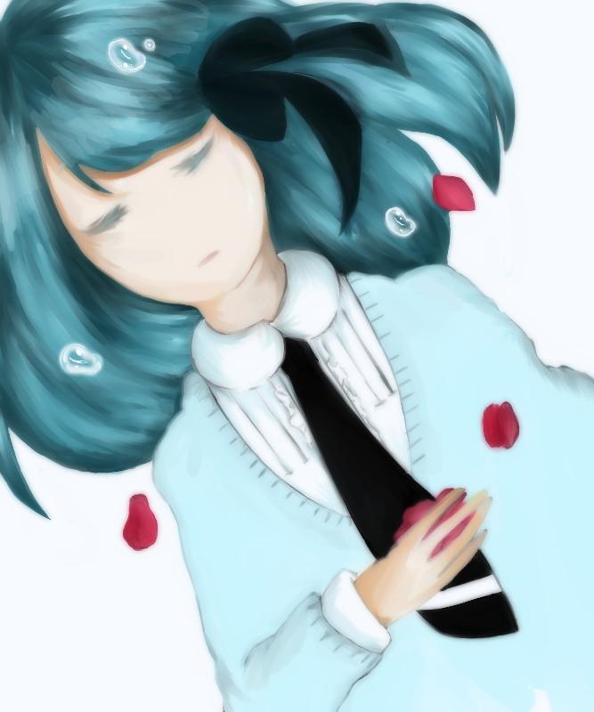 Tags: Anime, VOCALOID, Hatsune Miku, Hirari Hirari