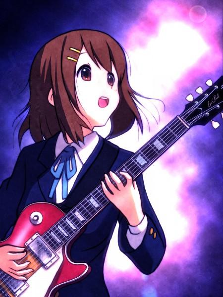 Hirasawa Yui/#1350268 - Zerochan K On Yui Guitar