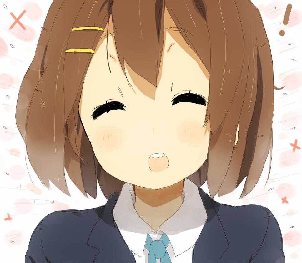 Image  K On Yui Happy
